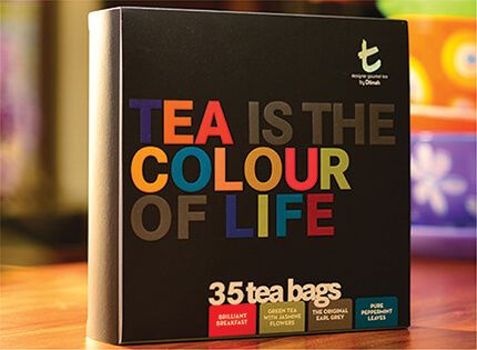 Tea is the Colour of Life